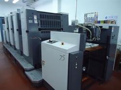 Изображение 4 красочная офсетная машина FUJI-SHINOHARA 75-IV