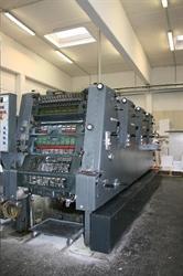 Изображение 4 красочная офсетная машина HEIDELBERG GTO-52-4P