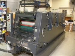 Изображение 4 красочная офсетная машина HEIDELBERG GTOV-52