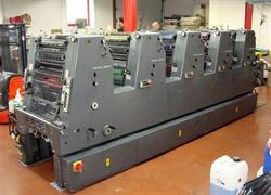 Изображение 5 красочная офсетная машина HEIDELBERG GTOF-52-