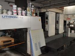 Изображение 2 красочная офсетная машина KOMORI L240