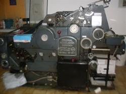 Изображение 1 красочная офсетная машина HEIDELBERG KORD-64