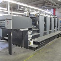 Изображение 5 красочная офсетная машина HEIDELBERG SM-102-5-P