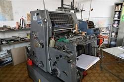 Изображение 1 красочная офсетная машина HEIDELBERG GTO-52