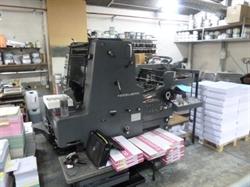 Изображение 1 красочная офсетная машина HEIDELBERG MOS