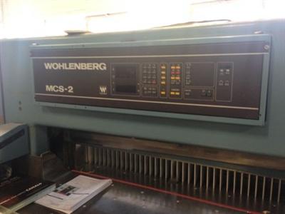 Изображение Резальная машина WOHLENBERG 115-MCS-2