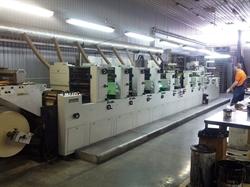 Изображение 11-секционная полуротационная печатная машина CODIMAG VIVA-340