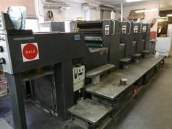 Изображение 4 красочная офсетная машина Heidelberg SM74-4H