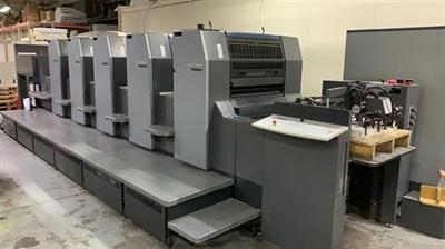 Изображение 5 красочная офсетная машина Heidelberg SM74-5H