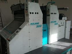 Изображение 2 красочная офсетная машина Man Roland 202 ET OB