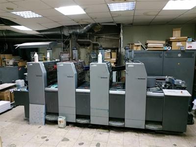 Изображение 4 красочна офсетная машина Heidelberg SM52-4 Anicolor