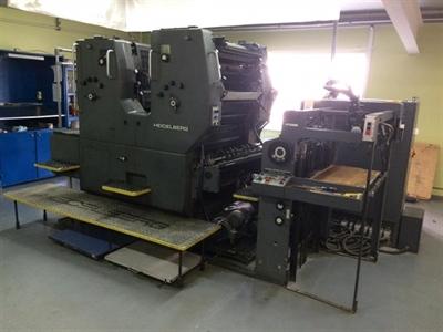 Изображение 2 красочная офсетная машина Heidelberg SORMZ