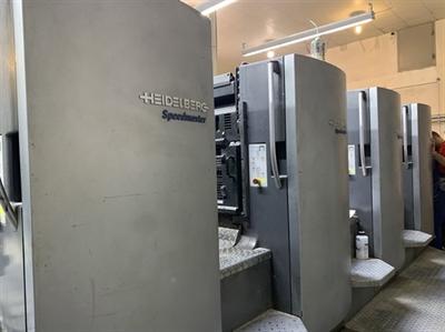 Изображение 4 красочная офсетная машина Heidelberg SM 102-4L