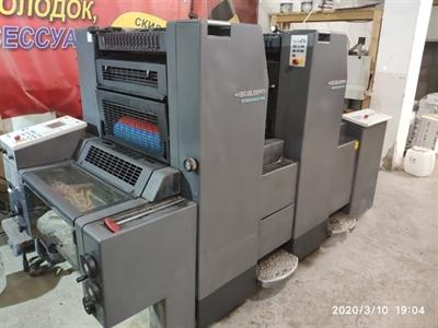 Изображение 2 красочная офсетная машина Heidelberg SM 52-2P