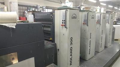 Изображение 4 красочная офсетная машина Roland 304