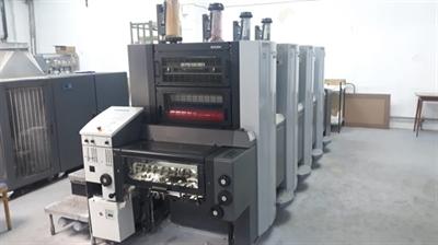 Изображение 4 красочная офсетная машина Heidelberg Anicolor 52-4